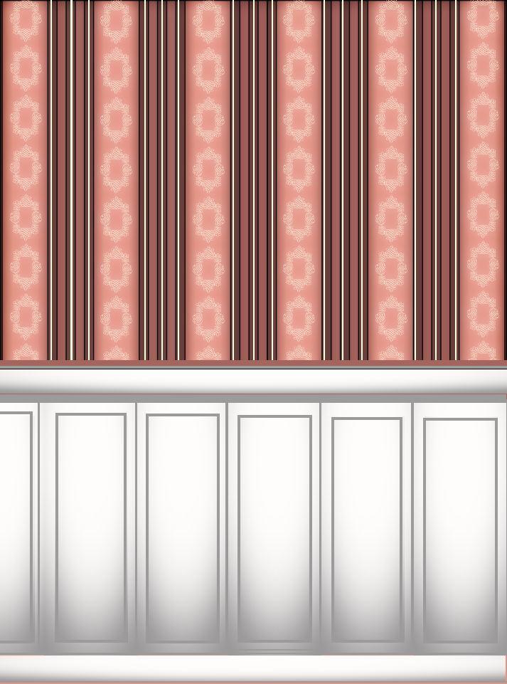 Kitchen Furniture Dollhouse Wallpaper Printables