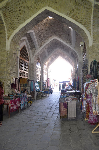 things to see and do in Bukhara Uzbekistan trading domes
