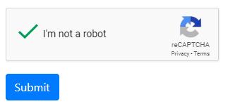 Integrating Google reCAPTCHA v2 with an ASP NET Core Razor Pages form