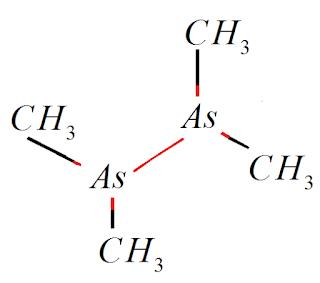 estrutura quimica cacodilo