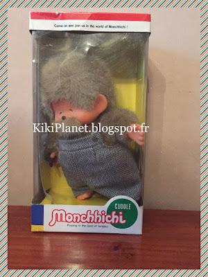 Le Grand'Pa Monchhichi Vintage Neuf dans sa Boite, grand-père kiki, papy kiki, jouet vintage, rare collection