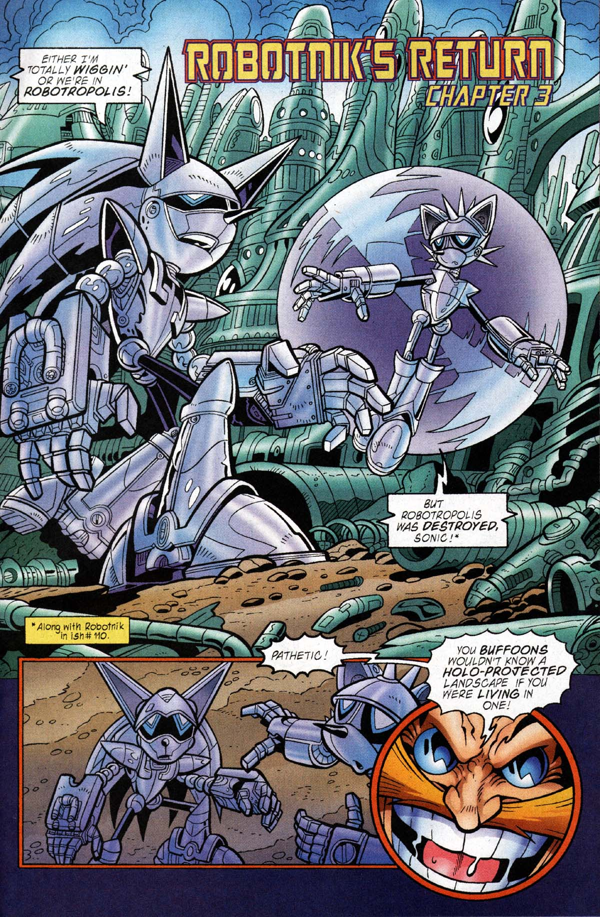 Read online Sonic The Hedgehog comic -  Issue #118 - 9