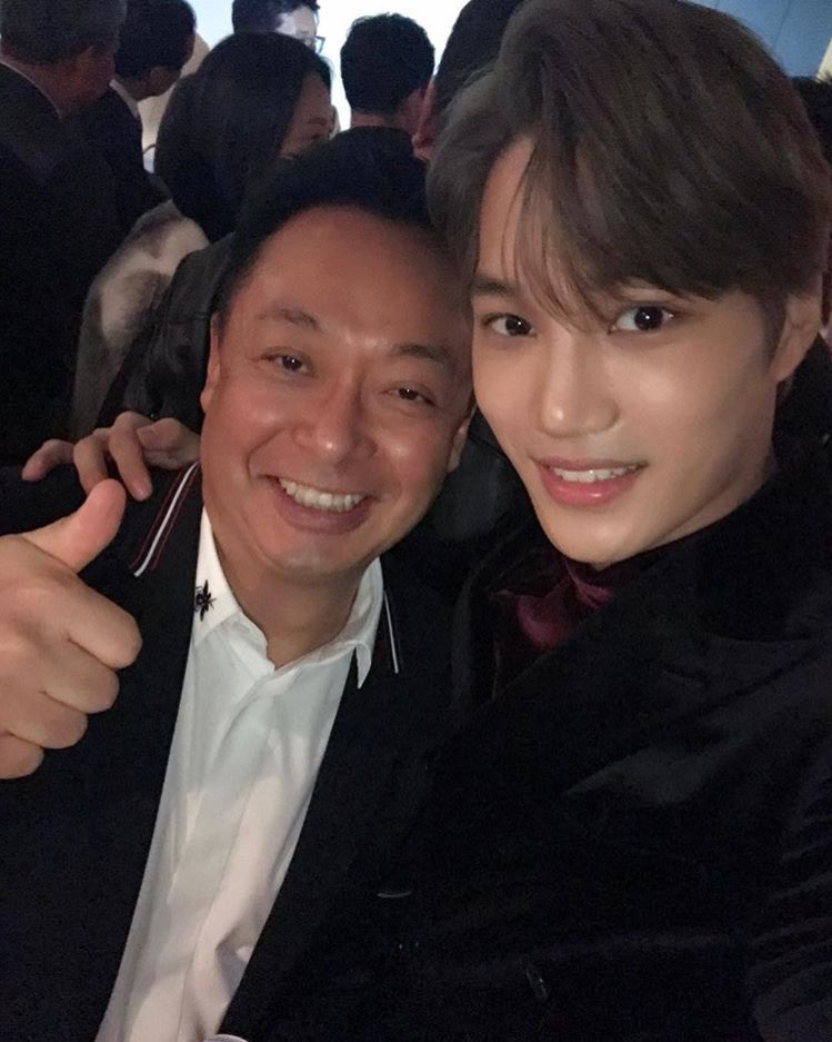 171209 Oukcho Instagram Update with Kai - EXOdicted - EXO ...