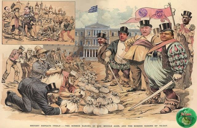 Αποτέλεσμα εικόνας για Η «δημοκρατία»  των ολίγων έγινε ολιγαρχία