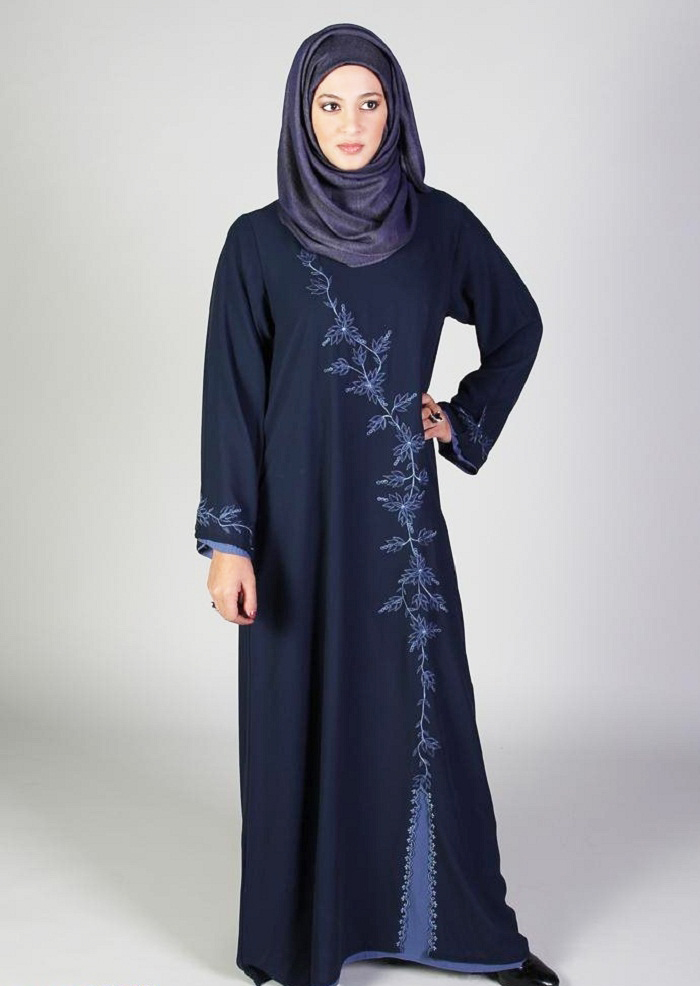 2aa94cf673fe I trust you would love these Hijab Styles and abaya accumulation 2016 On  the other hand in summer season thin and light fabric is utilized by them.