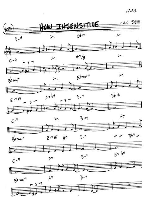 Partitura Flauta Jobim