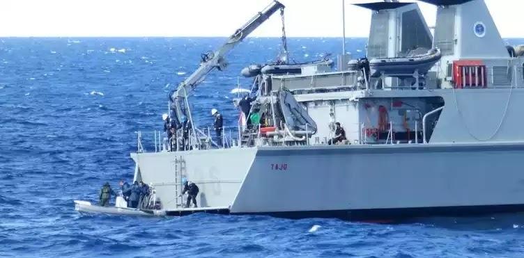 Το Πολεμικό Ναυτικό «καθαρίζει» τη θάλασσα από νάρκες [εικόνες]