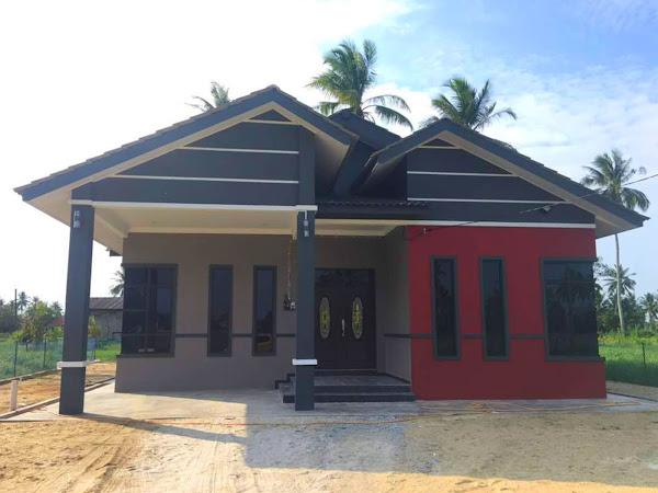 Rumah Banglo Bina Sendiri 1 Tingkat di Kota Bharu