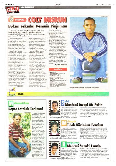 PROFIL BINTANG LIGA INDONESIA COLY MISRUN