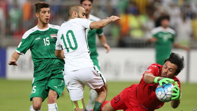 نتيجة مباراة السعودية والعراق 1-4 اليوم الأربعاء 28-2- 2018 استعدادا لمونديال روسيا
