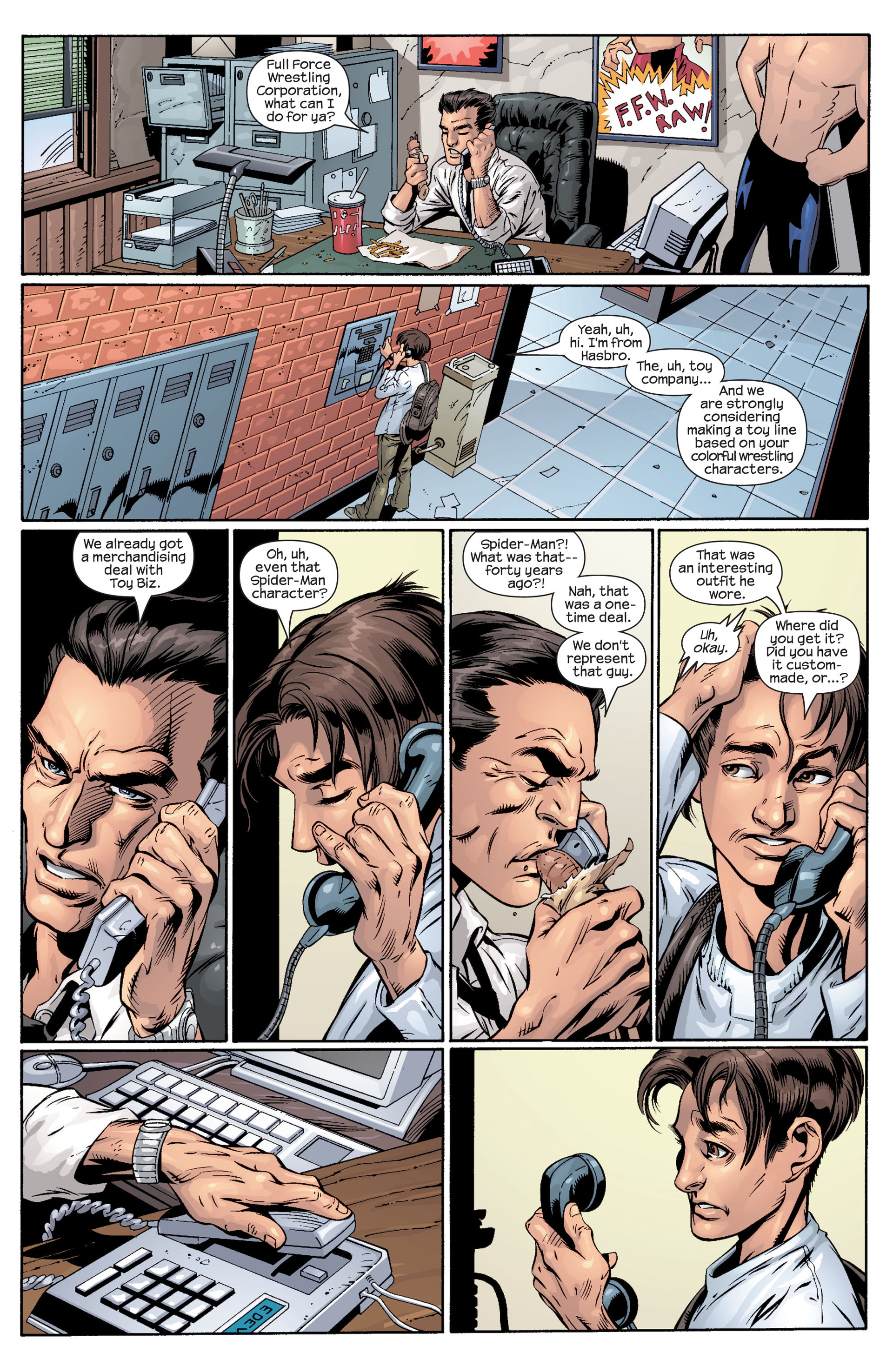 Read online Ultimate Spider-Man (2000) comic -  Issue #40 - 9