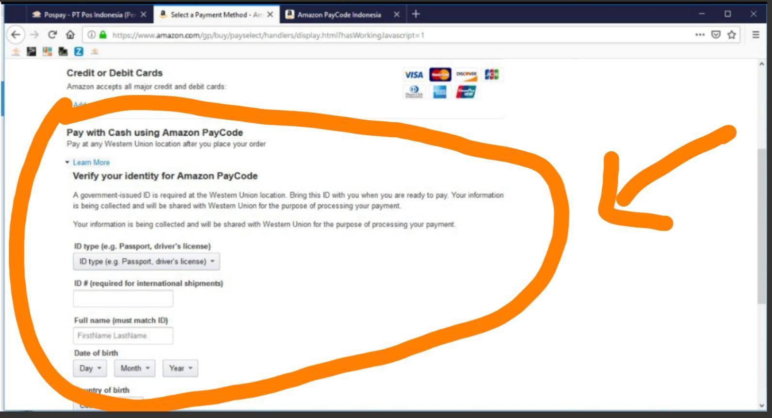Mudah Bayar Belanja Online Amazon Via Kantor Pos