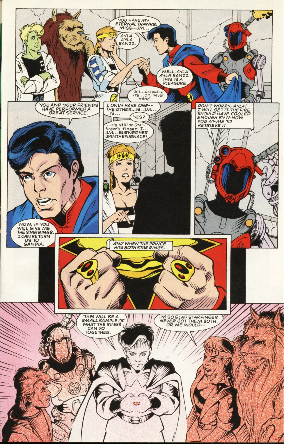 Legion of Super-Heroes (1989) _Annual_6 Page 50