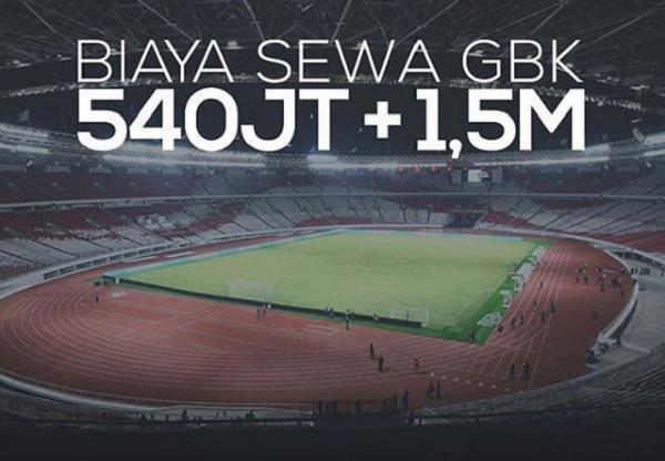 Bersiap Jakmania, Harga Tiket Persija di Stadion GBK Naik!