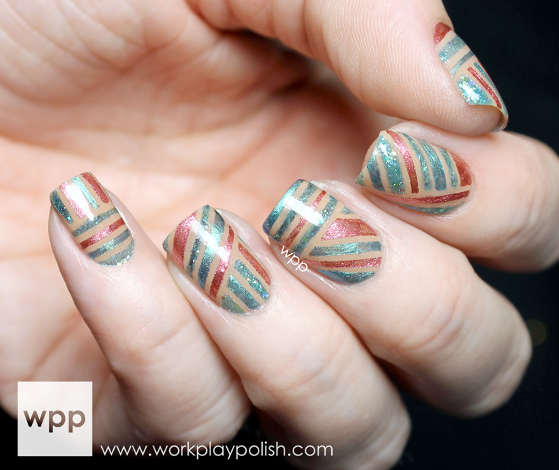 Color Secrets Professional Striped Nail Art