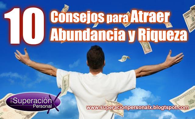 consejos atraer riqueza, consejos atraer abundancia, consejos atraer dinero