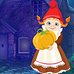 Games4king Pumpkin Girl Rescue Walkthrough