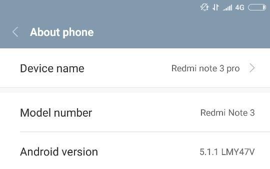 Mengatasi Xiaomi Redmi Note 3 Pro Tidak Bisa 4G Setelah Update