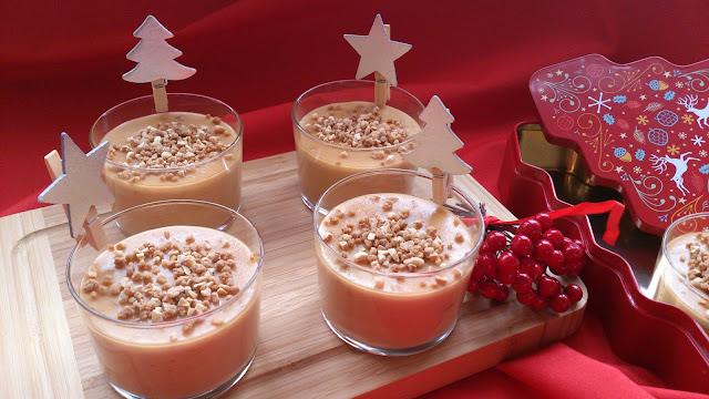 crema turrón jijona xixona caramelo almendra crocanti sencillo fácil rápido vasito rico navidad navideño postre reciclaje aprovechamiento nochebuena reunión rico sin horno