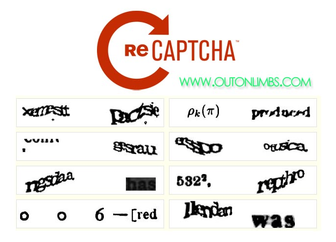Confusing Captcha Sucks, Can't Read Annoying Images | Out on