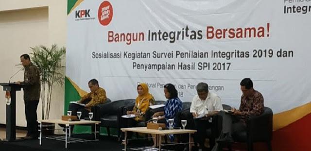 KPK Rilis Survei Penilaian Integritas, Polri Masuk Daftar Tiga Terendah