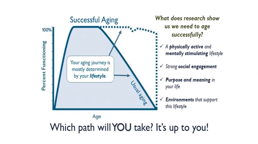 Successful Aging Chart Graphic