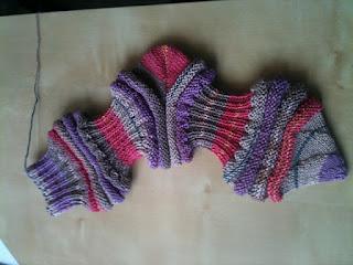 Mojo Socken mit spitzer Spitze