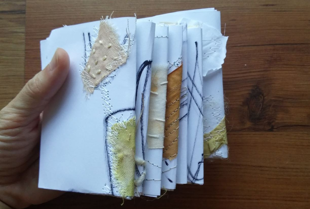 stitched paper booklets
