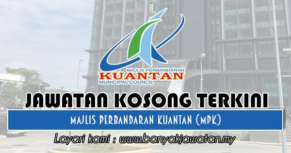 Jawatan Kosong 2018 di Majlis Perbandaran Kuantan (MPK)