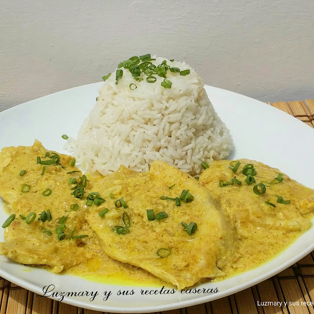 POLLO AL CURRY ( COOKER 8 EN 1)
