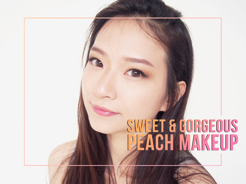 Sweet & Gorgeous Peach Ulzzang Makeup Tutorial - Beauty Blogger Indonesia