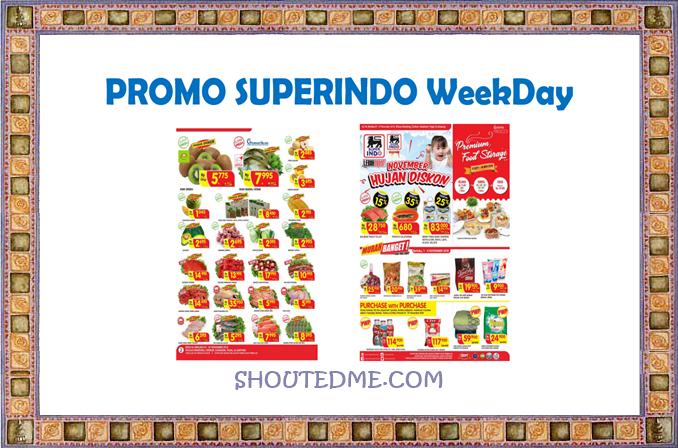 promo superindo weekday