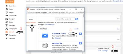 Cara Memasang Formulir Kontak di Halaman Statis Blog