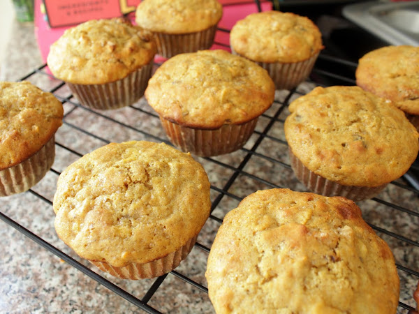 Hiding veggies is delicious! (Healthy Carrot Breakfast Muffins)