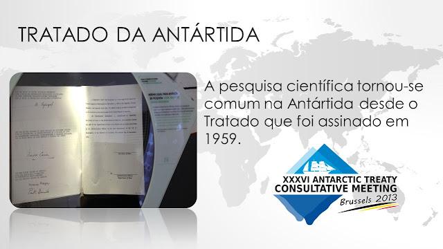 O Tratado da Antártida foi estabelecido desde 1959