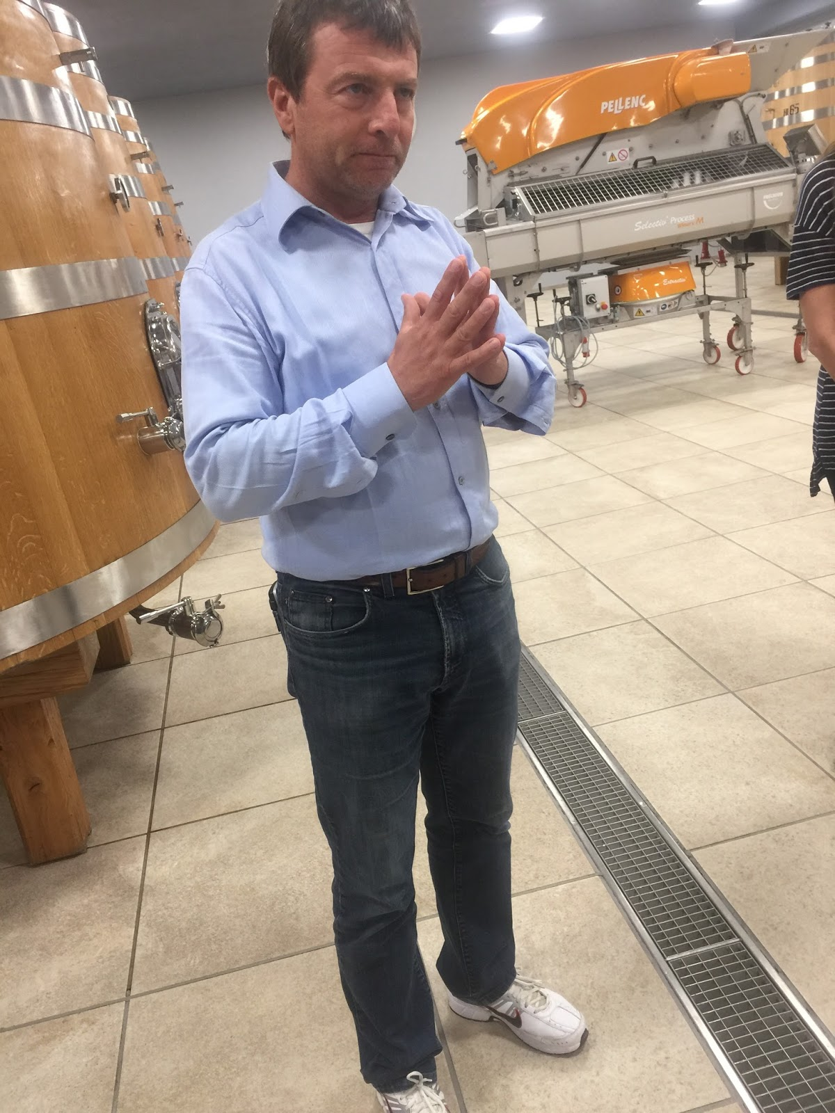0665b83fb5a8 Wine -- Mise en abyme  Winery visit with Roberto Conterno of Giacomo ...