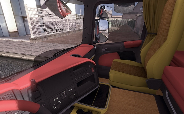 Scania Truck Driving Simulator Mods: interior mods download