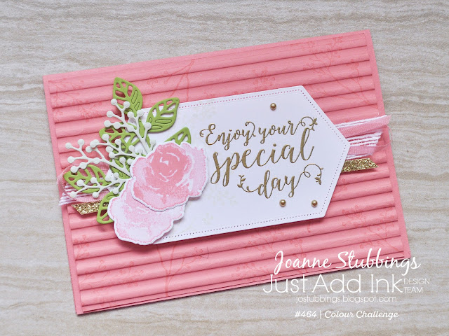 Jo's Stamping Spot - Just Add Ink Challenge #464 using First Frost bundle from Stampin' Up!