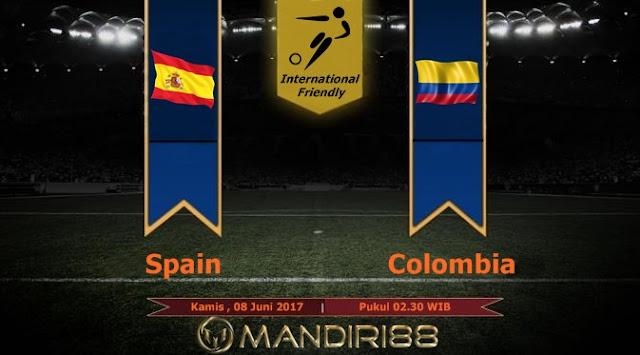 Prediksi Bola : Spain Vs Colombia , Kamis 08 Juni Pukul 02.30 WIB