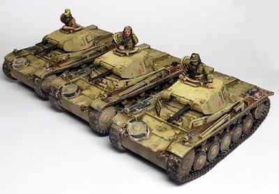 1/56 Panzer 2 Afrika Korps DAK Panzer II 28mm