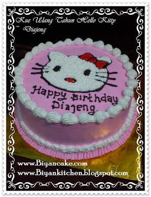 Biyancakes Pesan Kue Ulang Tahun Anak Kue Tart Hello