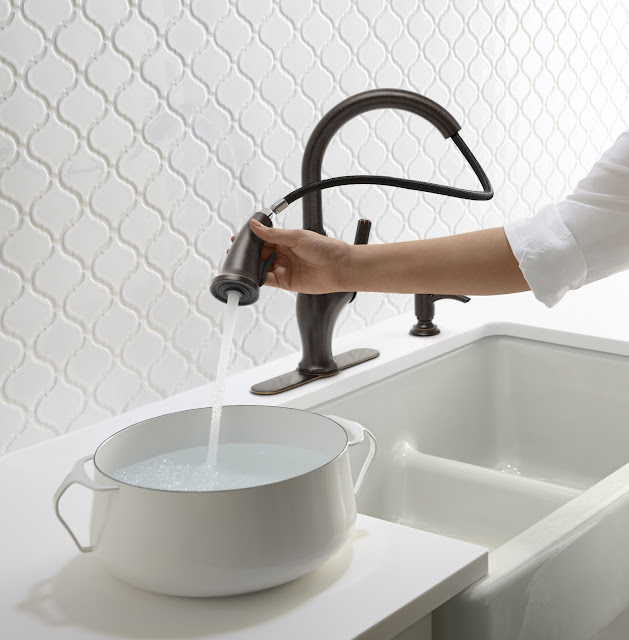 Kohler Sous, Worth and Trielle faucets available at the home depot