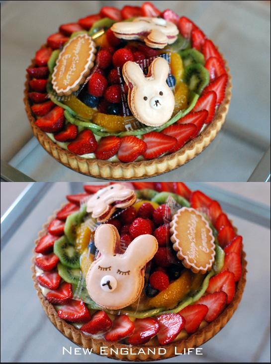 La Maison De Paris: Birthday Fruit Tart For A Little Girl