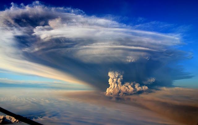 Grímsvötn Volcano Eruption