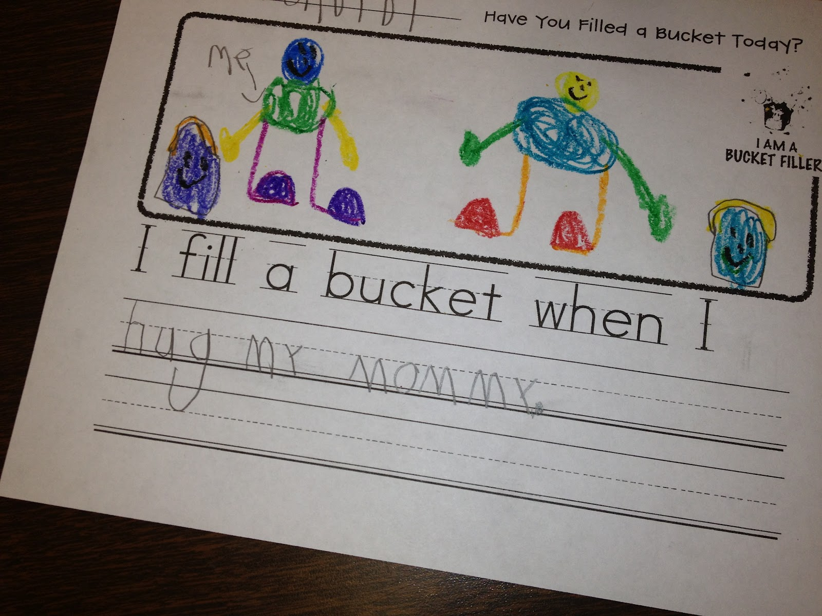 Ms Sepp S Counselor Corner Have You Filled A Bucket Today