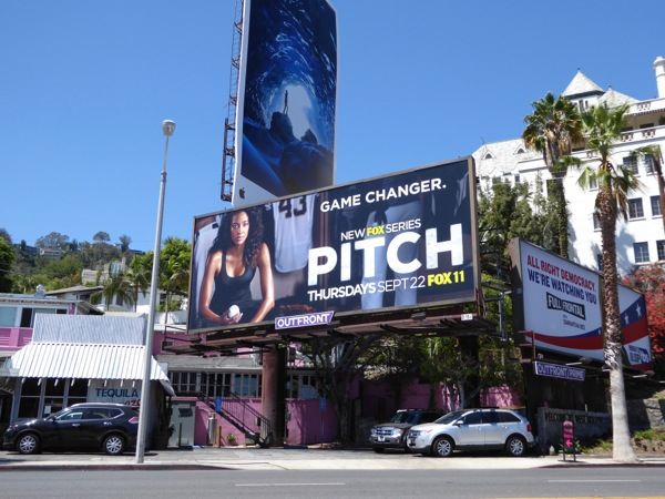 Pitch series launch billboard