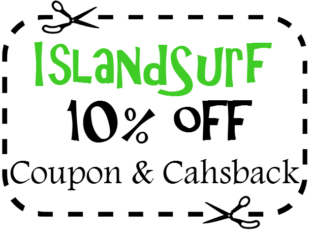 IslandSurf Discount Coupon 2021: 10% off IslandSurf Promo Code April, May, June, July, August