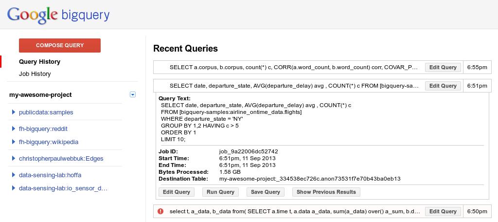 Google Cloud Platform Blog: Google BigQuery goes real-time