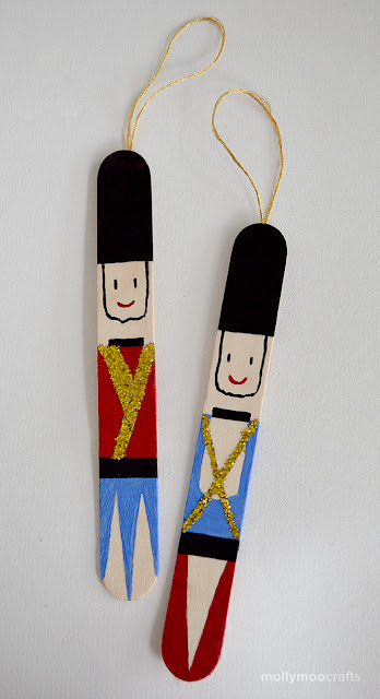 This Popsicle Stick Nutcracker Is A Great Quick Craft To Do Before Or After Watching The Ballet
