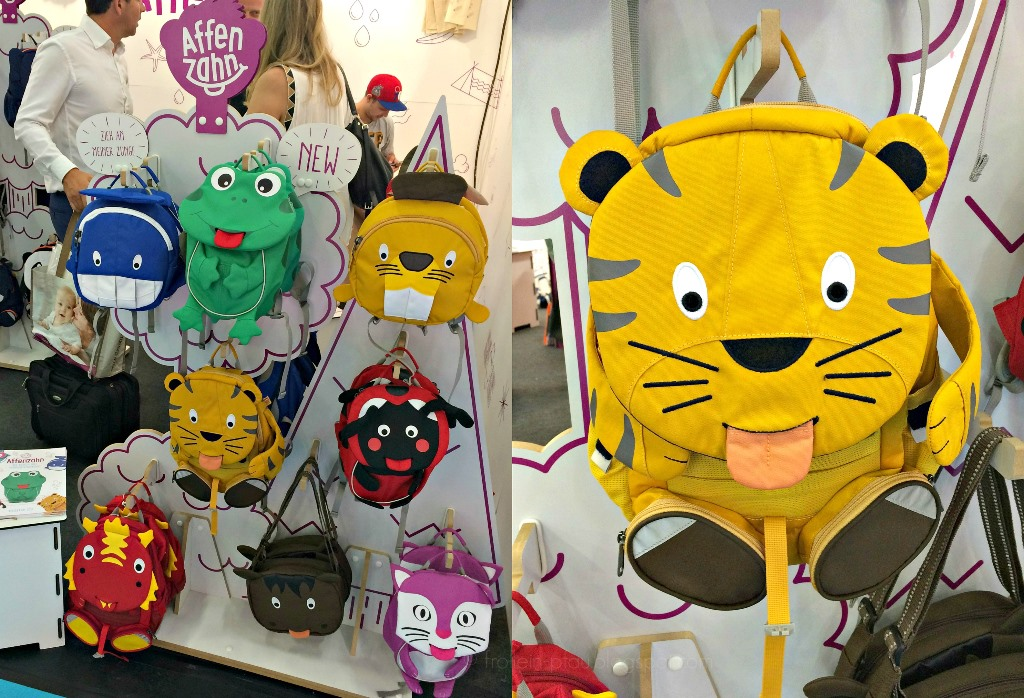 Kind+Jugend Messe Köln 2016, Kinder und Jugend Messe, Messe Köln, Messebesuch, Affenzahn Taschen Kindergartentaschen Kindergartenrucksäcke Kitataschen, ergobag Schulranzen, Taschen mit Tiermotiven